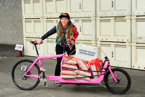 Sarah- First cargo woman | by Bici Girl