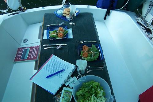 Beneteau first 29 table ext rieur barre franche for Table exterieur 2m60