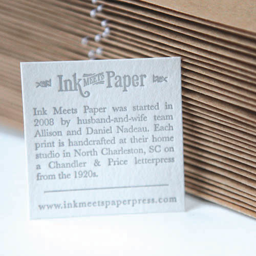 Ink Meets Paper Press | by uppercaseyyc