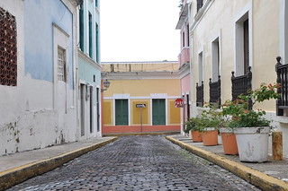 Colourful colonial-era houses and cobblestone streets - Old San Juan | by Jorge Lascar