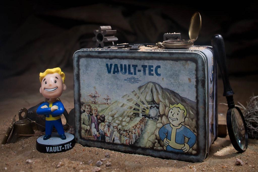 Fallout ланч бокс своими руками 31