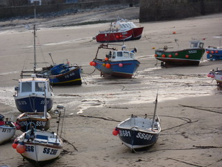 Boats in St Ives's Harbour | by Bods