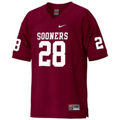 newest cfe70 d59c1 Oklahoma Sooners #28 Adrian Peterson Red NCAA Jersey | Flickr