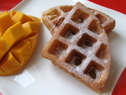 Buttermilk Yeast Waffles