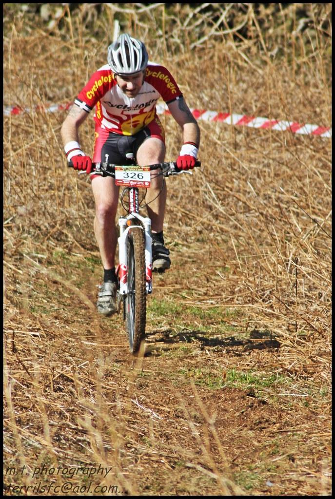 Soggy bottom rider