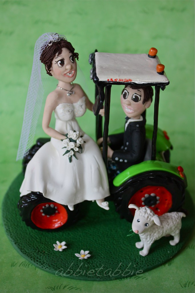 Claas Tractor Wedding Cake Topper ..... | ...... made in pol… | Flickr