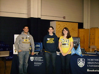 Bookstore 2-10-2010 Women's Basketball Game | by True Blue NAU