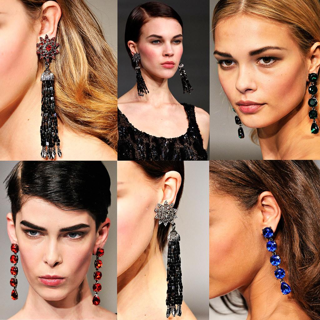 Oscar De La Renta Fall 2011 Tassel Earrings Www Dreamanddr Flickr