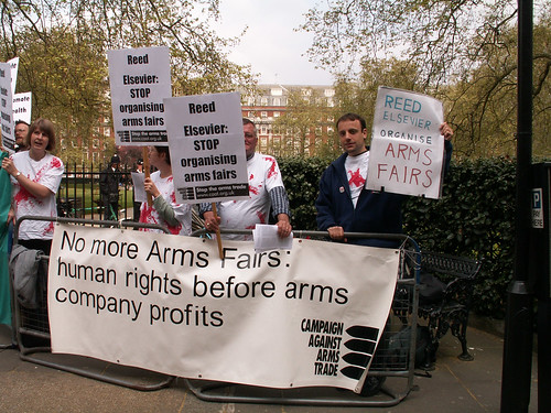 2007_04_17 Reed Elsevier AGM Protest (5) | by Campaign Against Arms Trade