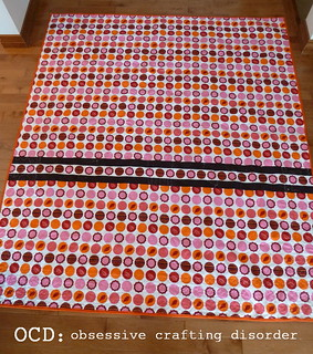 Fundraiser tree quilt back 2 | by Kristie at OCD