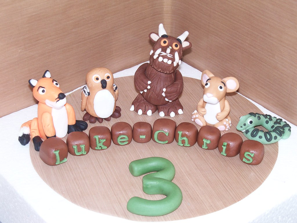 Gruffalo Cake Topper Come Find Me On My Facebook Page Www Flickr