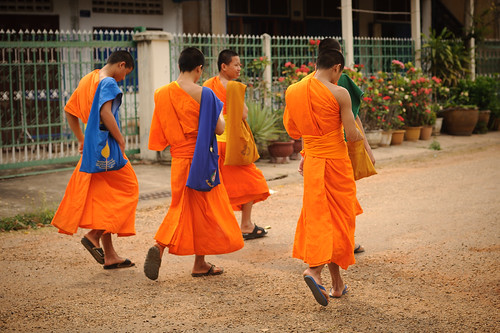Savannakhet Monks | by goingslowly