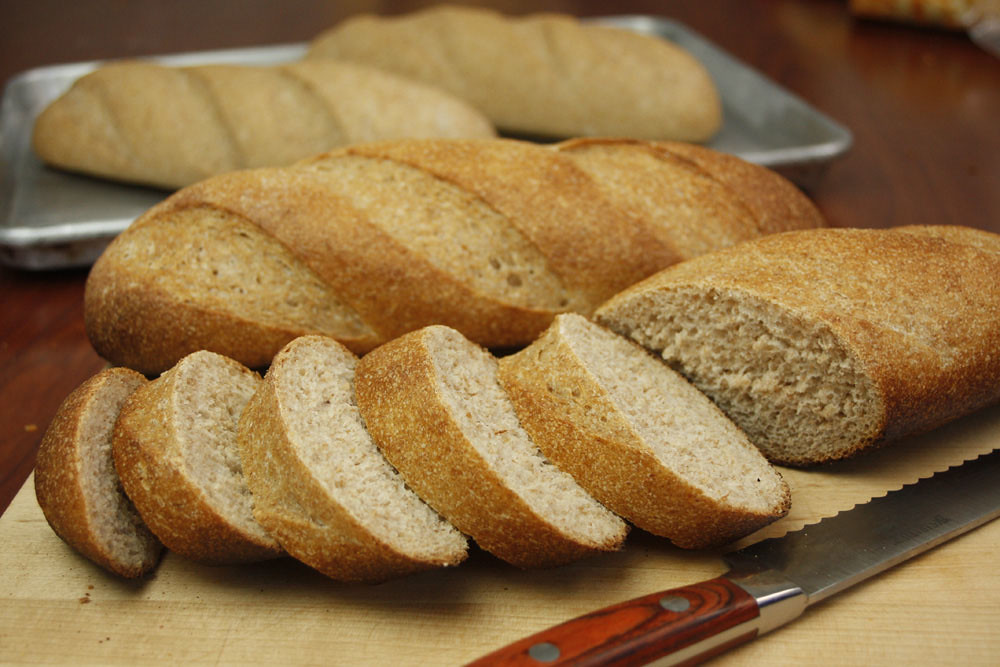 Beckmann's Old World Bakery, Whole Wheat Sourdough Baguette