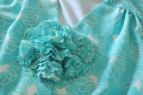 03.17.11 | mint green swing dress | by elegant musings