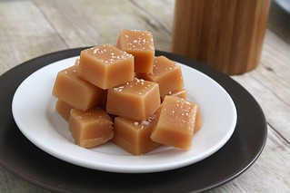 Fleur de Sel Honey Cream Caramels | by Tracey's Culinary Adventures
