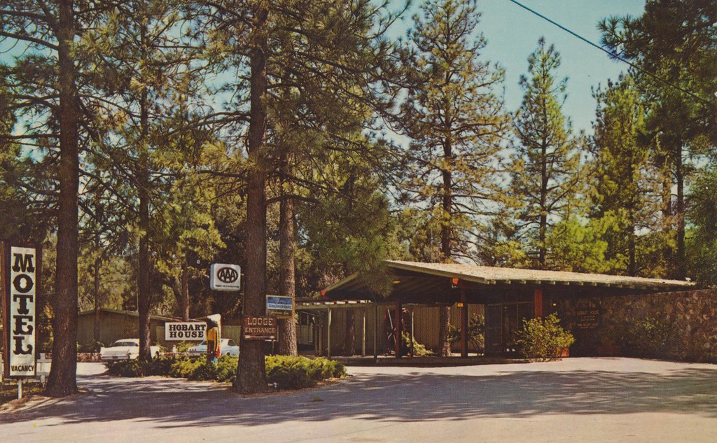 The Hobart House Motel - Pine Valley, California