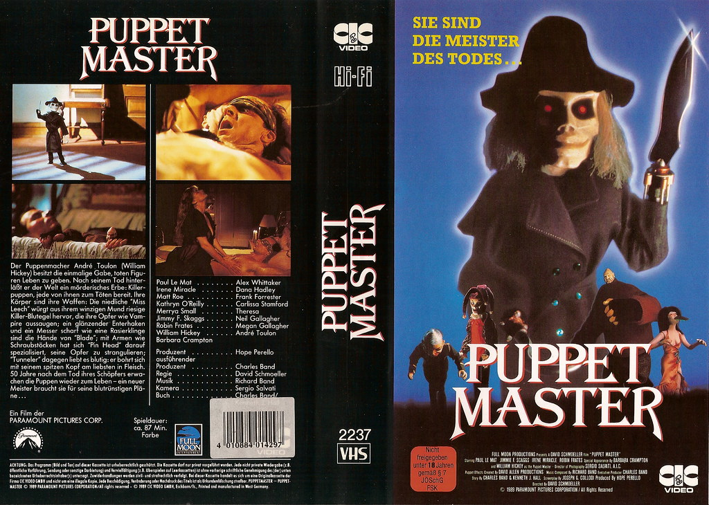 VHS Retro Art Round-up: 9 1/2 Half Weeks, Godzilla, Puppet Master ...