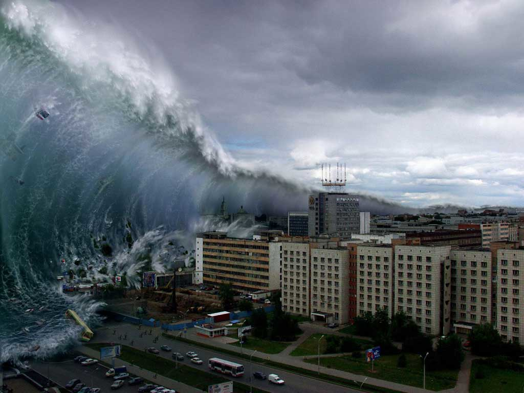 Image result for west coast tsunami