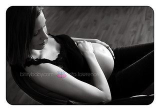 maternity photography black and white | by Bitsy Baby Photography [Rita]