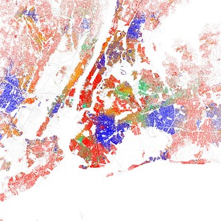 Race and ethnicity 2010: New York City | by Eric Fischer