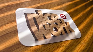 Nice Work - Target GiftCard® | by nuzzlesbyjohn
