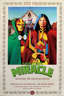 DC Comics promotional poster Mister Miracle - 1988 | by JasonLiebig