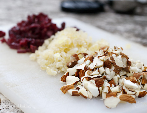 Ginger Almond & Cranberry Semifreddo Ingredients | by Elissa @ 17 and Baking