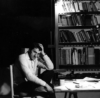 Iannis Xenakis in his studio, Paris - c. early 1960 | by Cea.