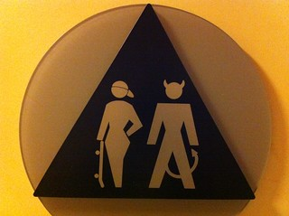 Coed Bathroom Sign Only in San Francisco | by Wayan Vota