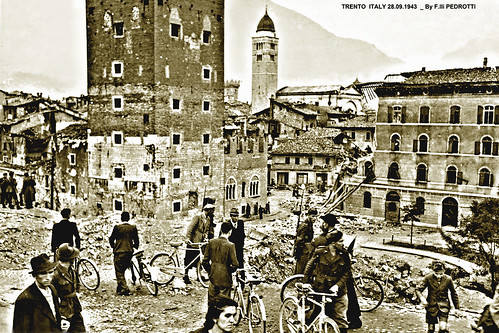 Y / Tn - Seconda Guerra Mondiale TRENTO bombardata Second World War Trento bombed year 1943 | by marvin 345