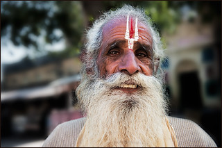 Holy Man in Orchha | by IgorLaptev