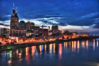 Nashville skyline | by Jim Nix / Nomadic Pursuits