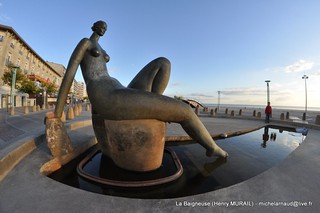 La Baigneuse d'Henry Murail | by Office de Tourisme de #saintjeandemonts