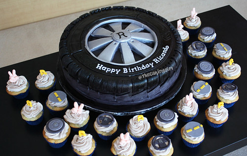 how to make fondant tyres