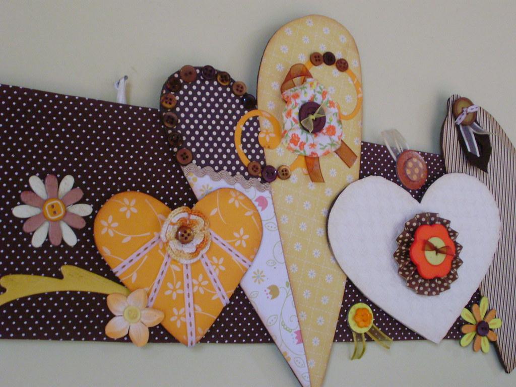 Detalhes Do Painel Cora Es E Flores Estar O Presentes Em Flickr ~ Painel De Fotos Para Quarto Coração