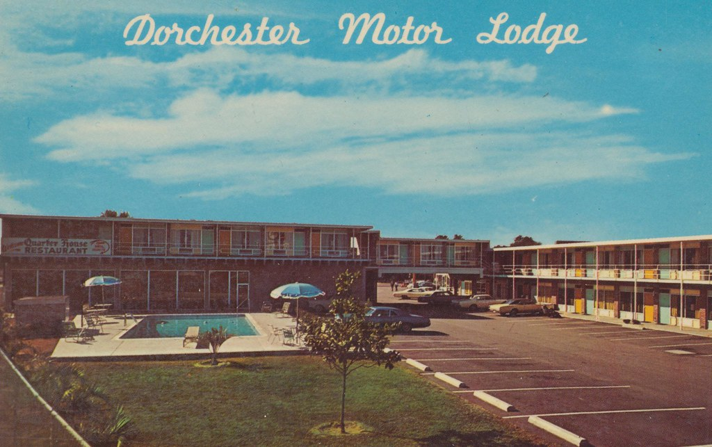 Dorchester Motor Lodge and Ole Quarter House Restaurant - Charleston, Heights, South Carolina