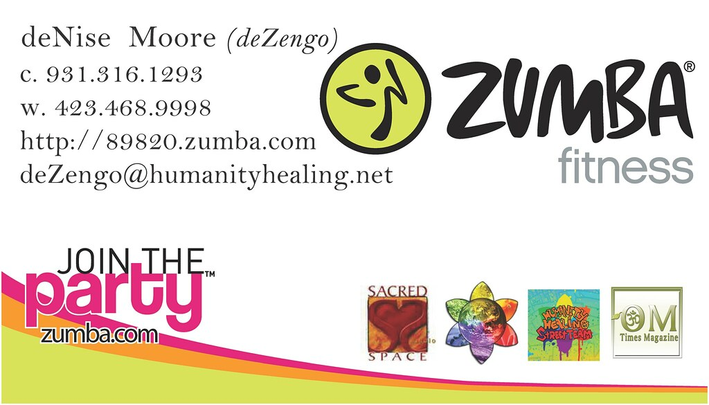 Sacredspace zumba business card this pass is good if flickr sacredspace zumba business card by dezengo reheart Choice Image