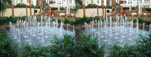 Opryland Hotel - Water Fountain 3D Stereogram | by BoogaFrito