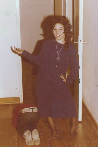 Me in Halloween Drag - circa 1976 | This is me in drag ...