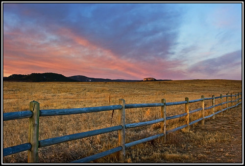 A Fence Friday Sunrise | by RondaKimbrow