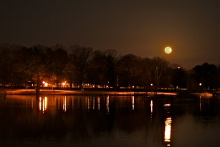 Super Moon over the Lake | by Mary StarMagic -