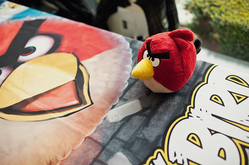 Angry Birds at Game Design Expo 2011
