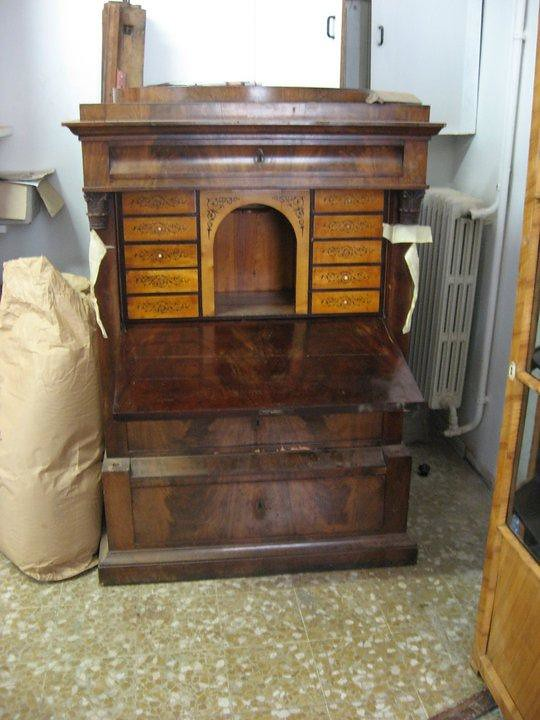 3.secretaire piuma di mogano austriaco | simone.guarracino | Flickr