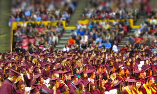 A sea of maroon and gold: ASU graduation 2010 | by kevin dooley