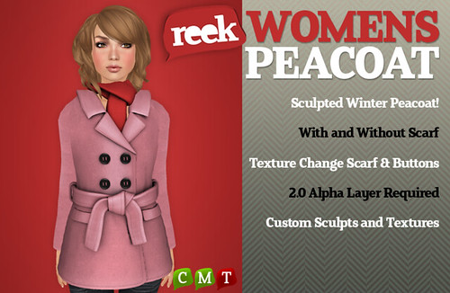 Reek - Womens Peacoats | by Riq Graves