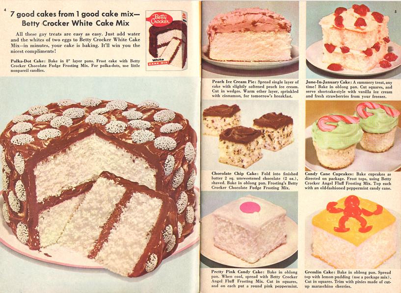 Betty crocker cake mix recipe book