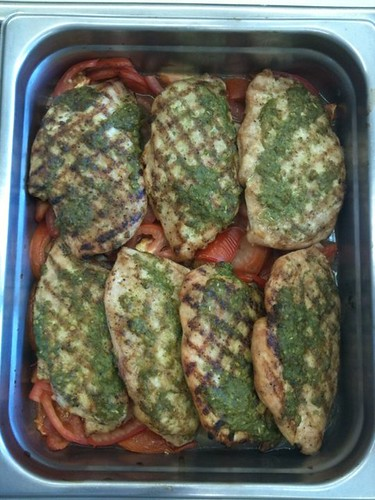 Pesto Grilled Chicken | by ChefDonBergeronEnt