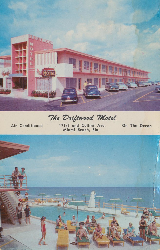 The Driftwood Motel - Miami Beach, Florida