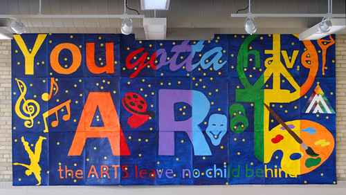 School Spirit Banner This Banner Created By Fourth And