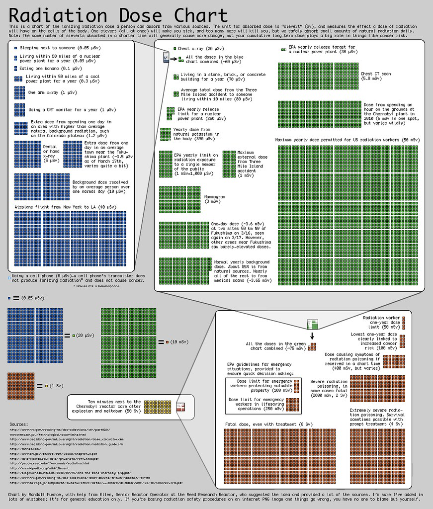 Body Type Chart: Radiation Dose Chart by Randall Munroe at xkcd.com | Flickr,Chart